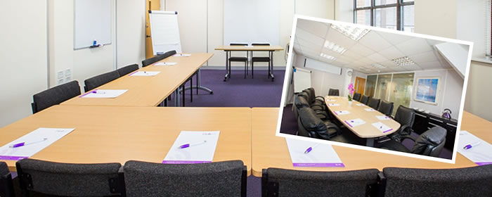 Meeting rooms at The Hub Business Centre Ipswich